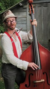 Chase Holliday (upright bass, harmonica, vocals)